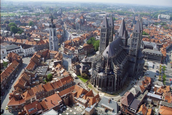 Notre-Dame Cathedral - Tournai